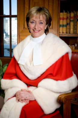 Former Supreme Court Justice Marie Deschamps.