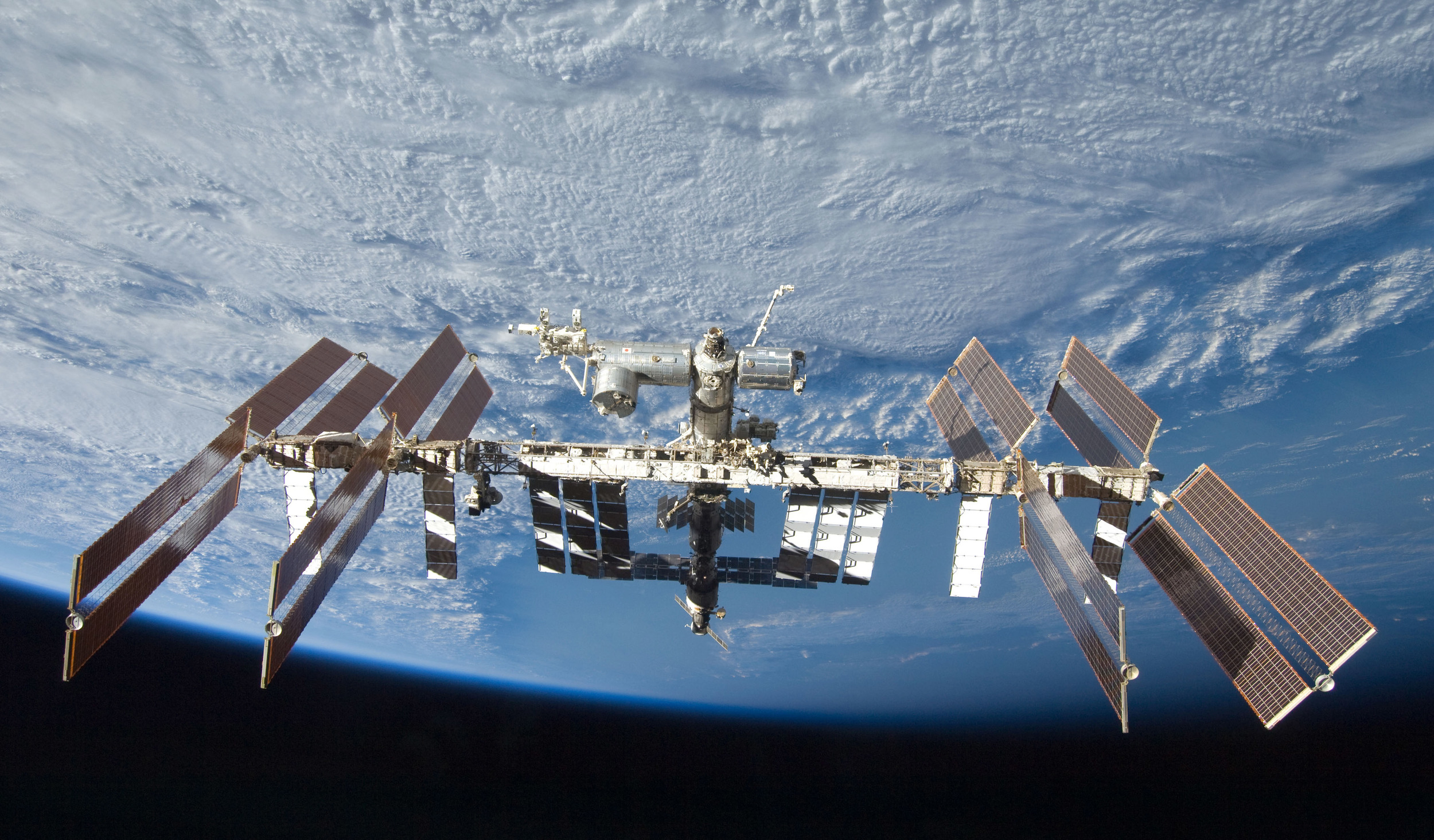 The International Space Station. (NASA photo).
