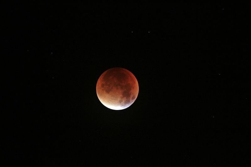 Super Blood Moon captured from Upton, Merseyside. (wikipedia)