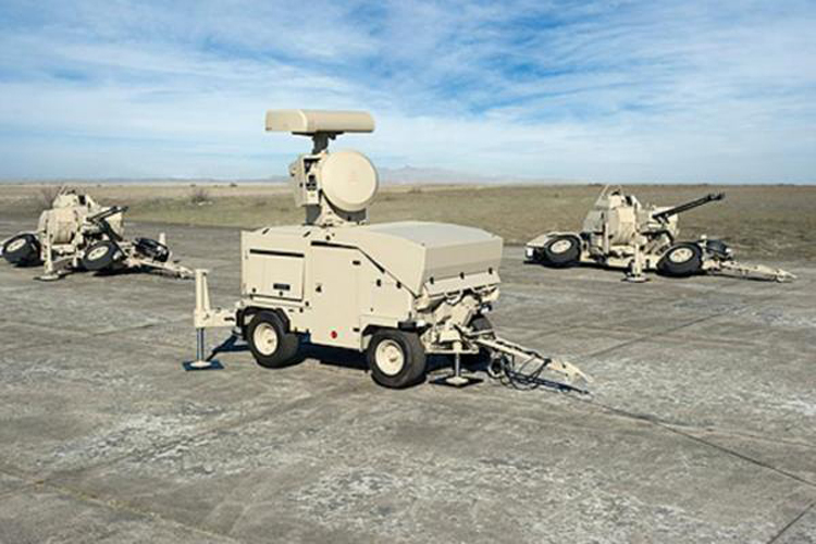 The Oerlikon Skyguard 3 air defence system was recently bought by the Royal Thai Army. The system`s armament includes an Oerlikon Twin Gun GDF 007, VSHORAD missile launchers, and an Oerlikon Revolver Gun Mk2 towed. (RHEINMETALL DEFENSE)