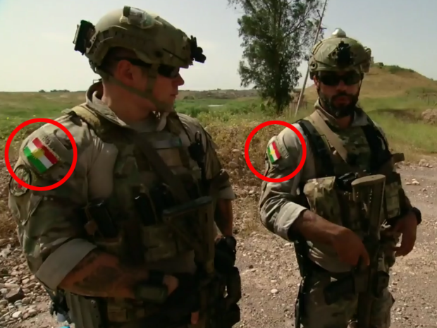 CTV photograph led the Canadian Military to rethink the wearing of Kurdish flags