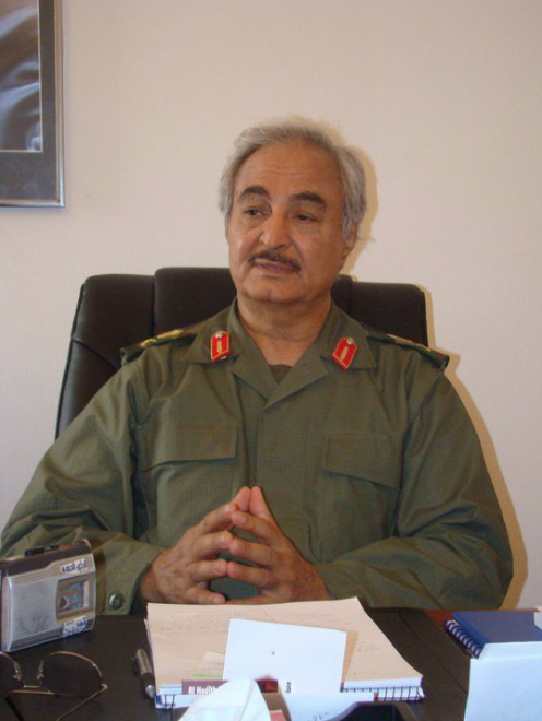 General Khalifa Haftar is the most powerful warlord in Libya - and Russia is looking to back his militia with the goal of securing peace in that war torn country.   Photo Credit:  Magharebi  - Flickr