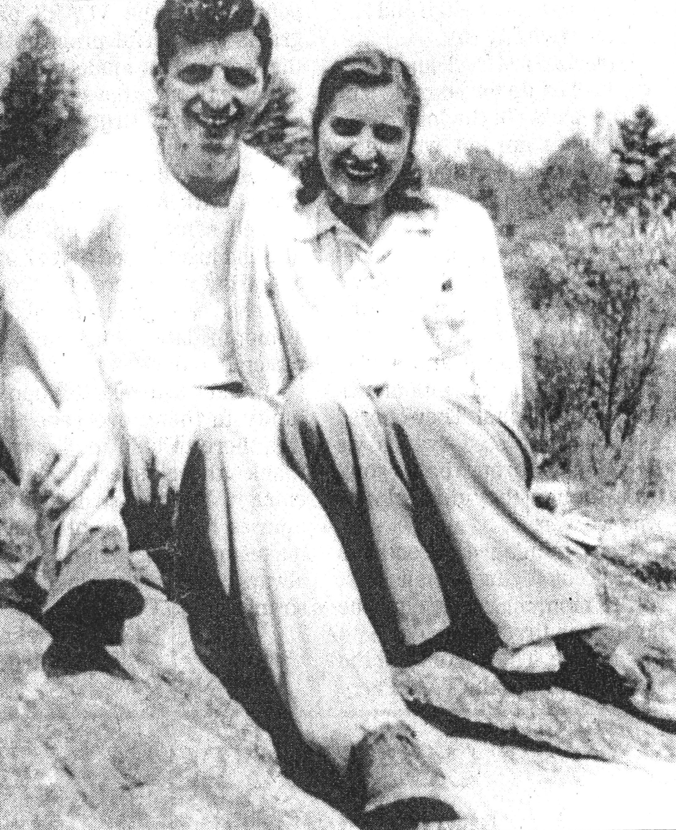 Bob Mercer and his wife Fran in 1946. Soon after graduating with a chemistry degree from the University of Manitoba, Mercer found himself a job at one of two explosives plants built in Nobel, on the shores of Georgian Bay and about 50 kilometres north of Parry Sound.
