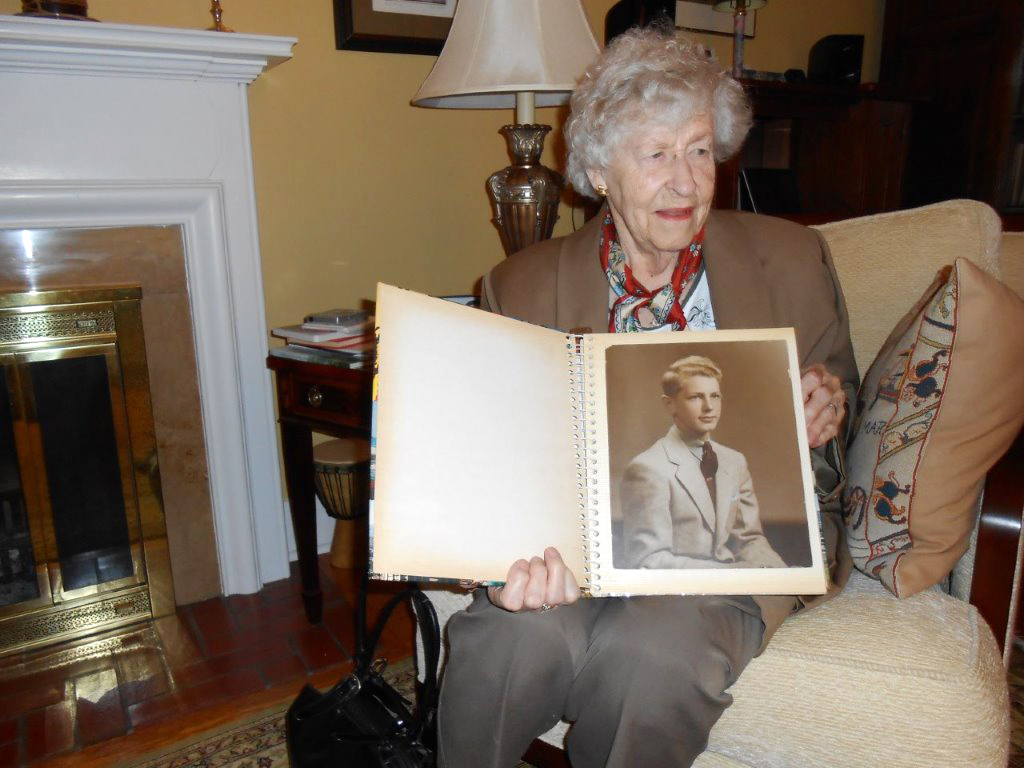 Gert Penwill, a cousin of Robert English, lives in Mississauga, Ontario. Her son Grant has all of the pictures and letters of Robert's, still kept in an old leather suitcase. (larry d. rose)