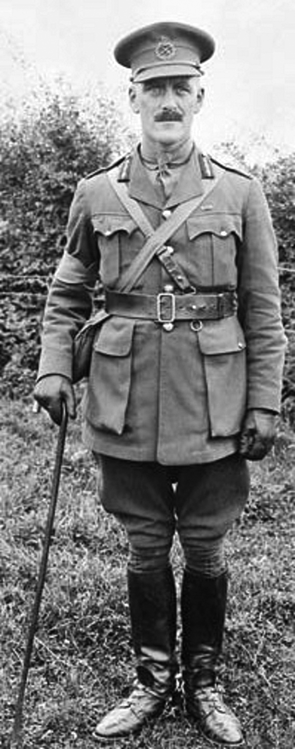 Garnet Burk Hughes had shown promise as a cadet officer and was politically well-connected (his father was Sam Hughes). In 1913, he, alongside his friend LCol Arthur Currie, helped form the 50th Regiment (Gordon Highlanders) militia in Victoria, BC. Although he attained the rank of major-general during the First World War, Currie judged him to be an incompetent commander.