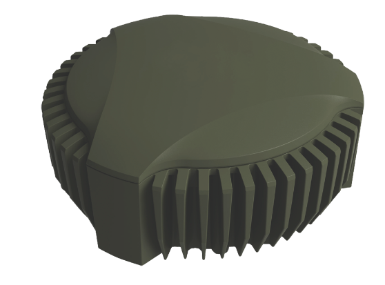 NovAtel's GPS Anti-Jam Technology (GAJT) is a retrofittable antenna system that nulls jamming signals to ensure satellite signals required will be available. (novatel)