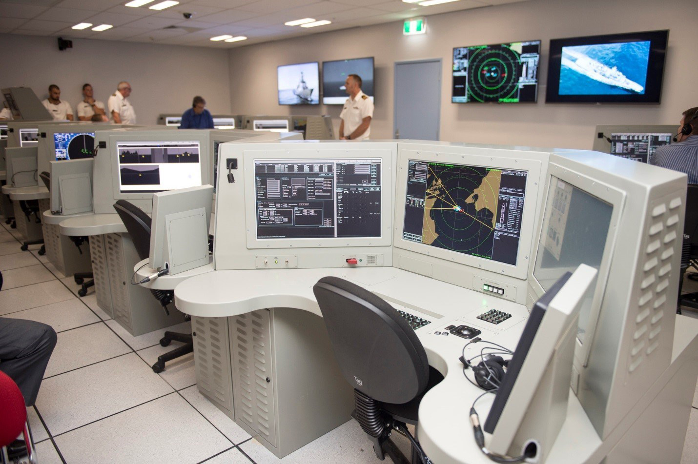 Lockheed Martin Canada's Combat System Trainer was delivered to the Maritime Warfare Training Centre at the Royal New Zealand Navy base in Devonport, New Zealand. The simulator is part of the RNZN's Frigate System Upgrade Project. (lockheed martin canada)