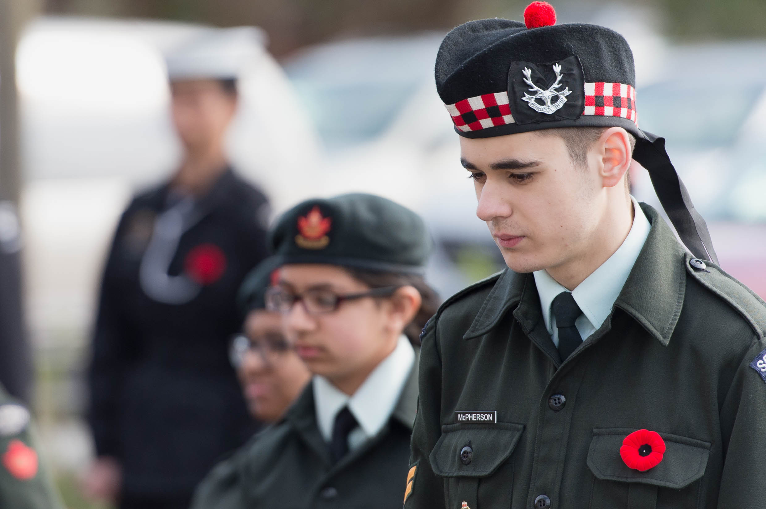 In Cloverdale, British Columbia, Army Cadets took part in a commemorative ceremony to mark the 100th anniversary of the Battle of Vimy Ridge. (phil edge)
