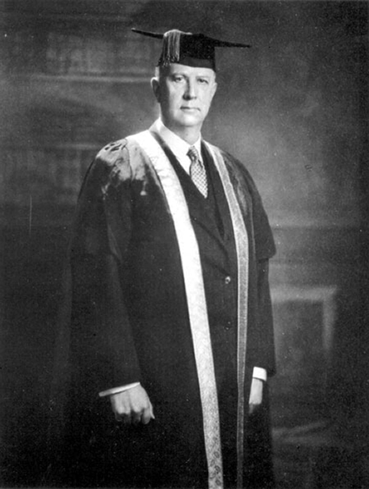 General Sir Arthur Currie served as President of McGill University between 1920 and 1933. During this period, he successfully led a fundraising campaign which revitalized a moribund institution that was becoming worn at the seams. (mcgill university archives, pu  010537  )