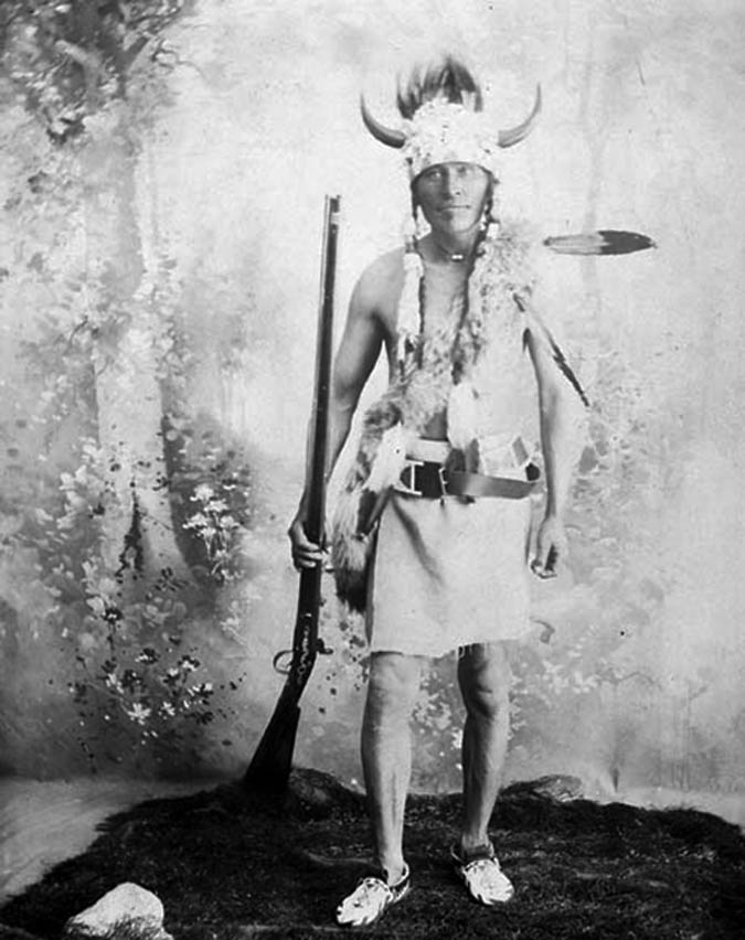 Poundmaker's war chief, Fine Day, was delegated the task of defending their village, which he achieved by masterful use of the local terrain. Shown in 1896, after his return on a government pardon, his memories of the rebellion were published by the North West Historical Society in 1926. (library and archives canada, mikan   3258171  )