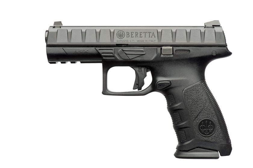 Side profile of the new model Beretta APX semi-automatic pistol