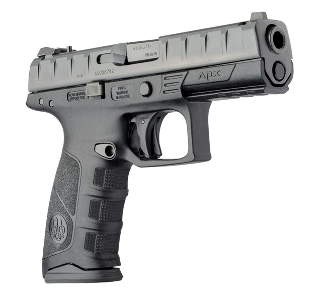 new model Beretta APX semi-automatic pistol