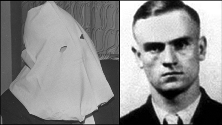 On September 5, 1945 Russian cypher clerk Igor Gouzenko defects from the Soviet Union and is brought to Camp X for his safety. To protect his anonymity, Gouzenko wore a trademark white hood whenever he appeared in public.