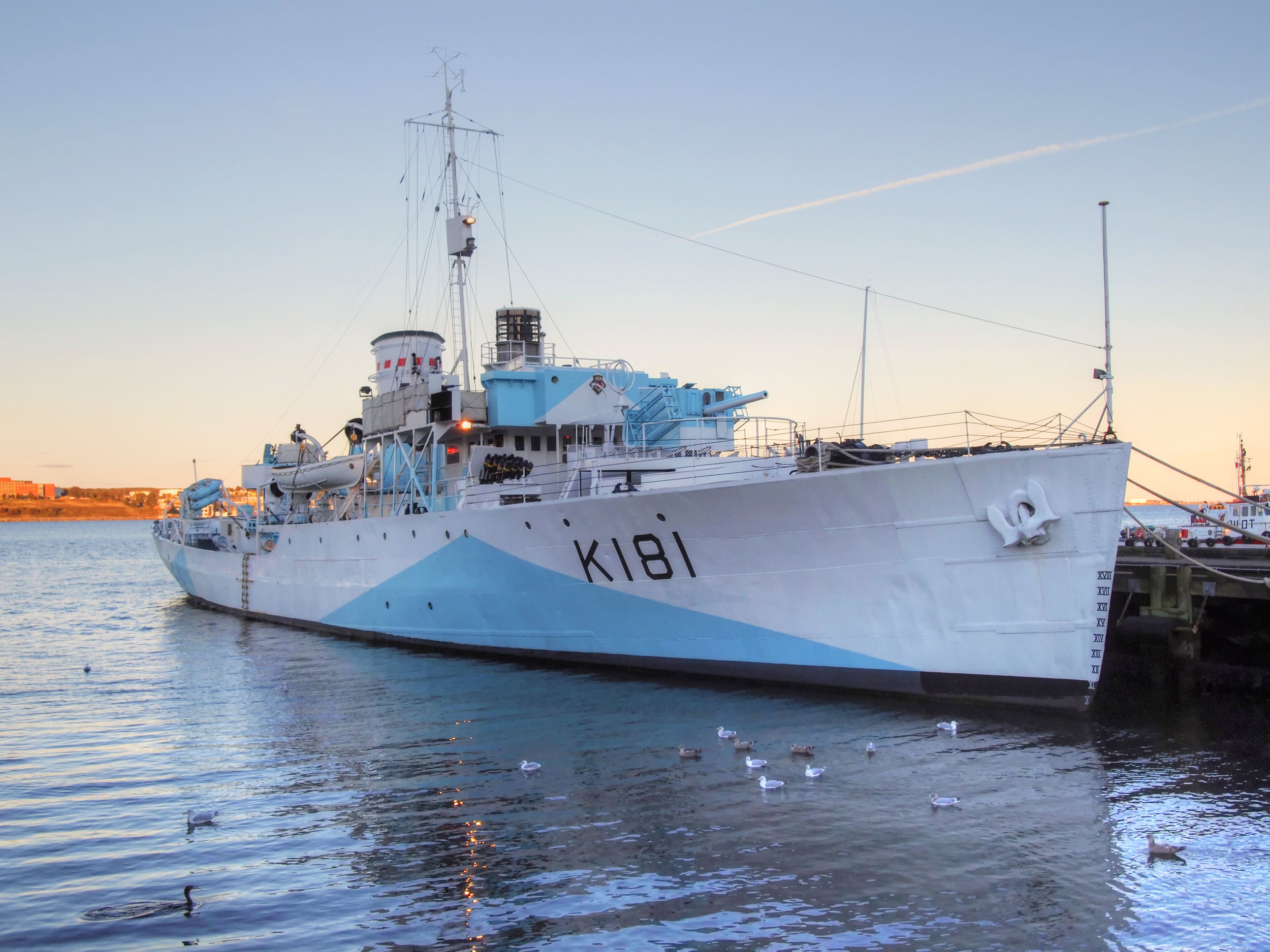 HMCS  Sackville , the last surviving Flower-class corvette and  now serving as a museum ship in Halifax, Nova Scotia, is in dire need of urgent repairs or she will be lost forever. (andrew anderson)