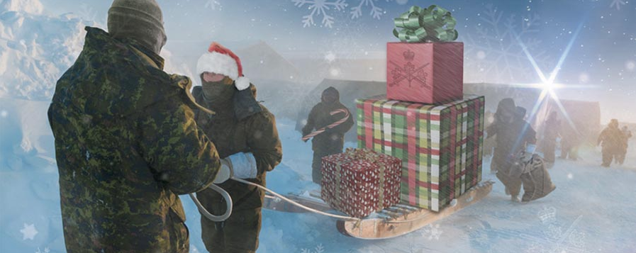 Holiday graphic Image by: Joanna Gajdicar, Graphic Designer, Directorate of Army Public Affairs