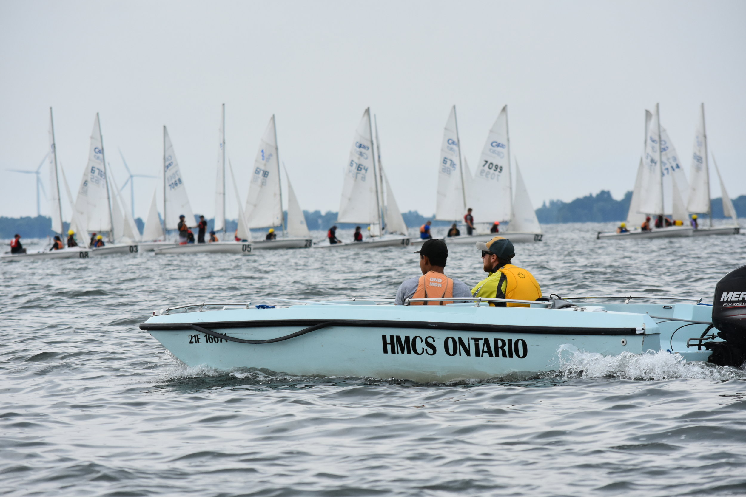 Although the Sea Cadet Program offers so much more than sailing, the highlight for many sea cadets is being chosen to compete in the national regatta at CORK (Canadian Olympic Regatta Kingston) on Lake Ontario. (rcsu central, national cadet and junior ranger support group)