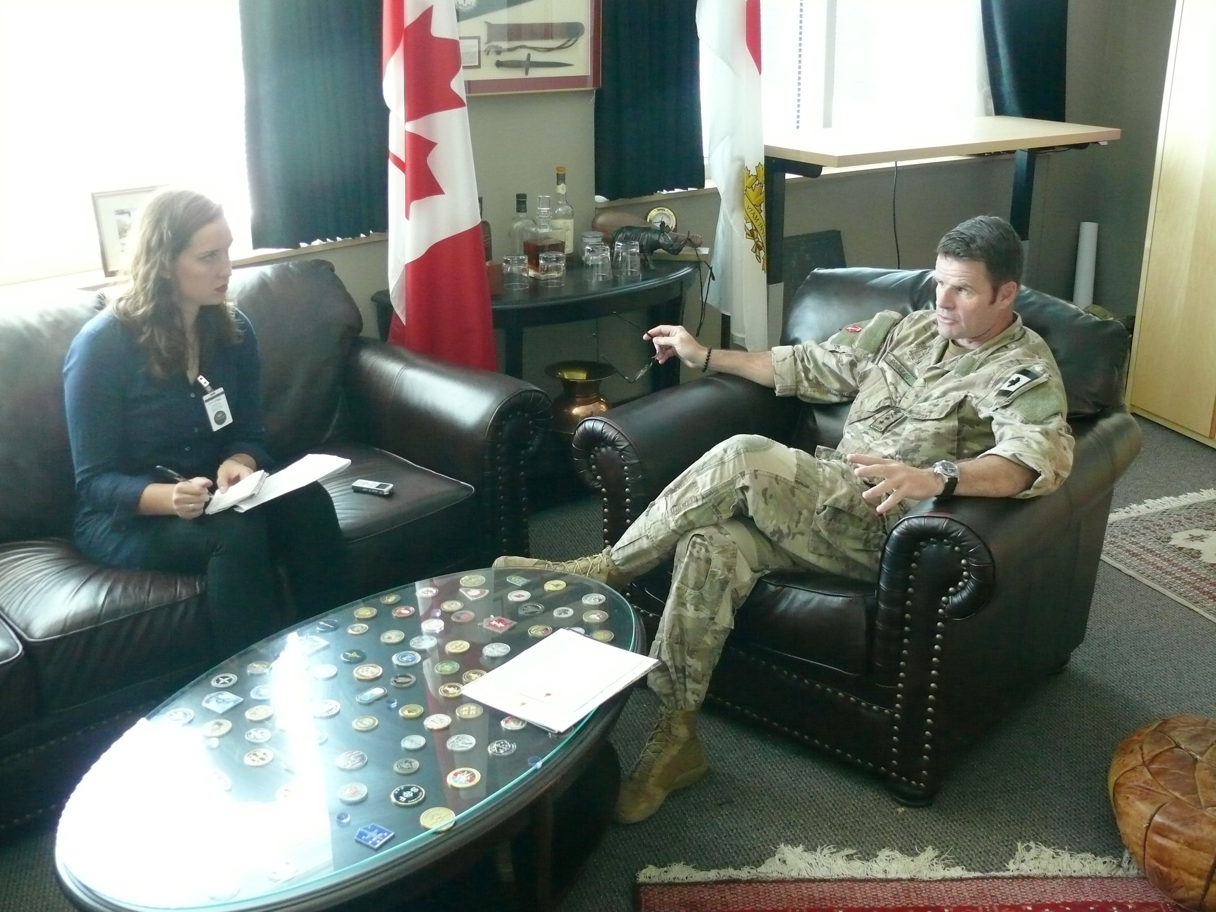 Esprit de Corps' Sandrine Murray sat down with MGen Rouleau on September 19, 2017 to hear his thoughts on how the Canadian Special Operations Forces Command (CANSOFCOM) has changed since its creation in 2006, about the mental health initiatives being undertaken within the organization, and where the special forces units are headed next. (adam peace, esprit de corps)
