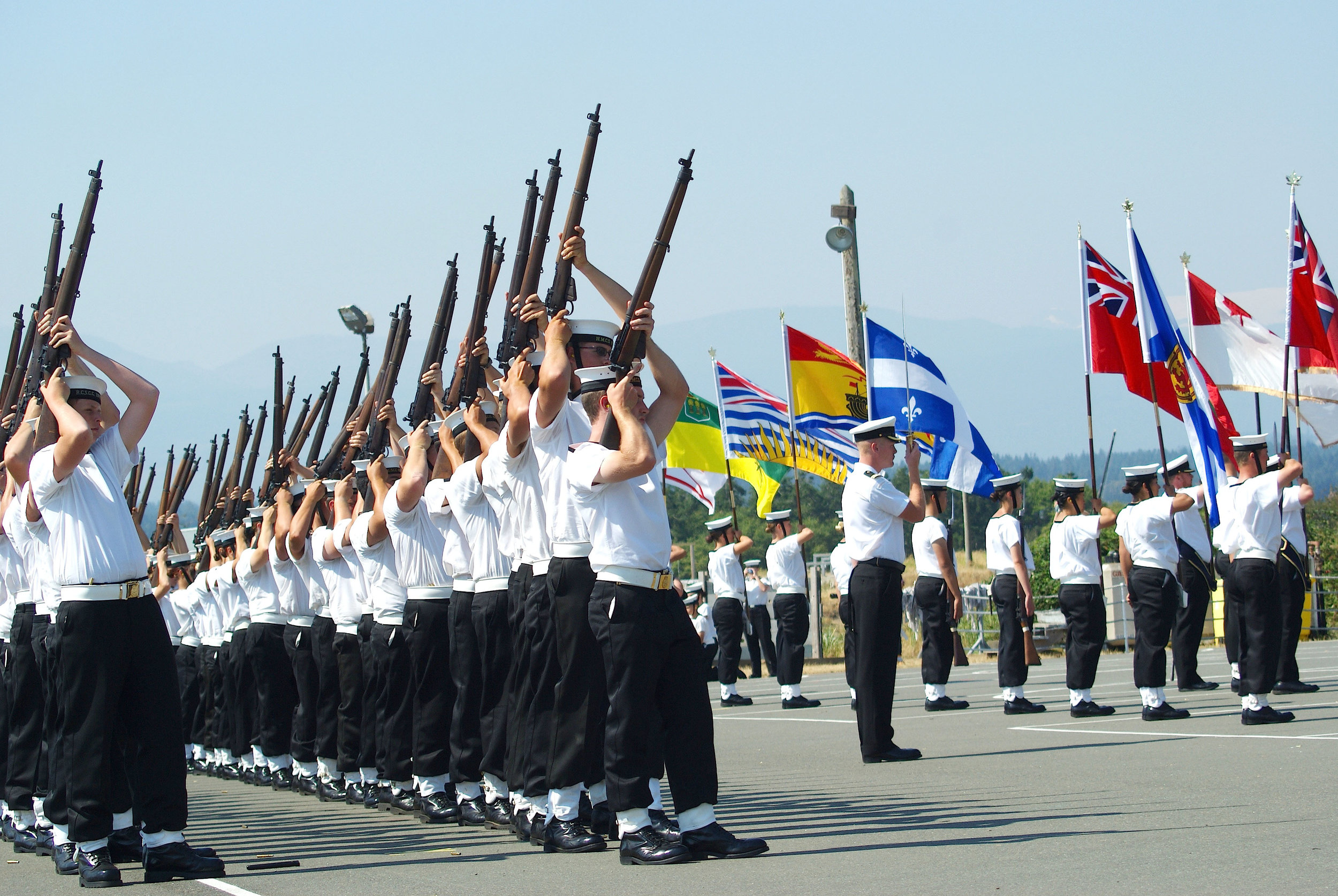 Skills, traditions, and pride demonstrated by Royal Canadian Sea Cadets. (deborah morrow)