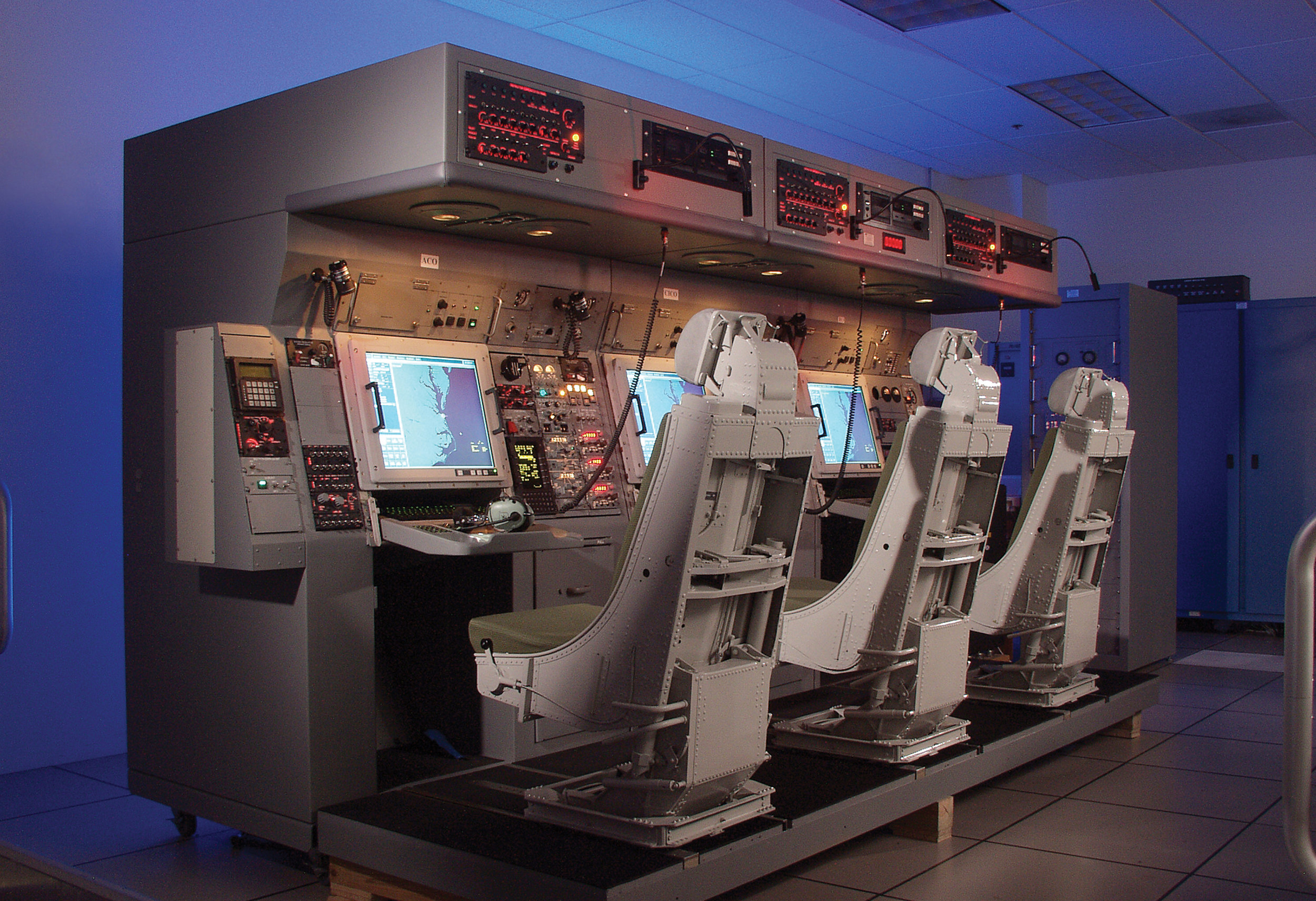 Rockwell Collins has been selected by the U.S. Navy to provide an upgrade to the E-2D Advanced Hawkeye Integrated Training System (HITS, pictured here).