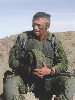 Colonel (ret'd) Pat Stogran served on several peacekeeping and other international missions, including most recently Afghanistan (pictured). Following his retirement from the CAF, he was appointed Canada's first Veterans Ombudsman. In addition to his column, he is also the author of Rude Awakening: The Government's Secret War Against Canada's Veterans. (photo courtesy stephen thorne, the canadian press)