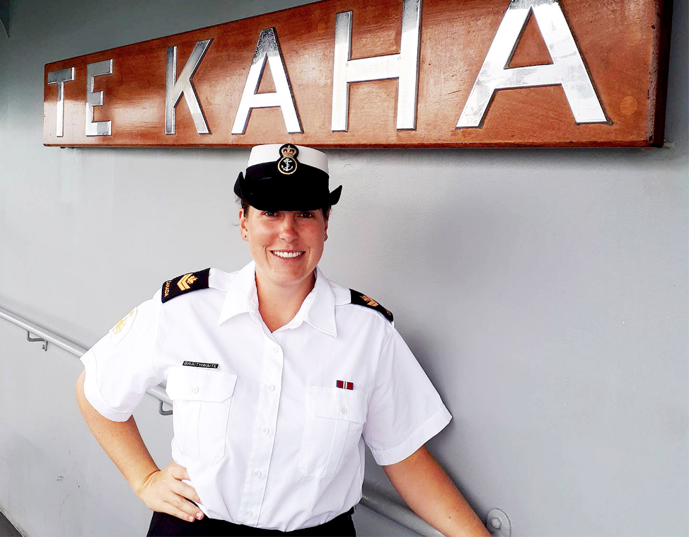 Master Seaman Kaitlin Braithwaite