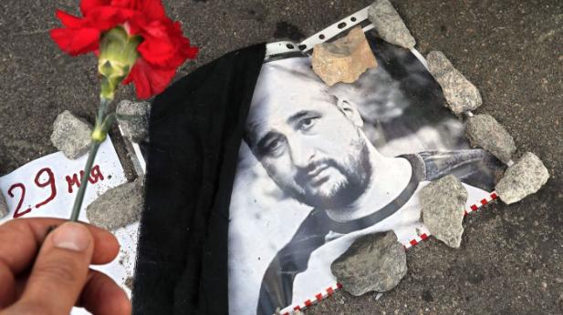 Arkady Babchenko faked his own death