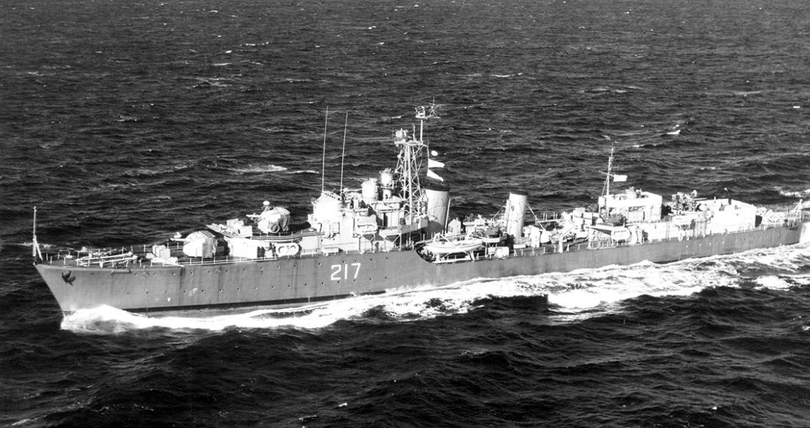 HMCS Iroquois G89 / 217