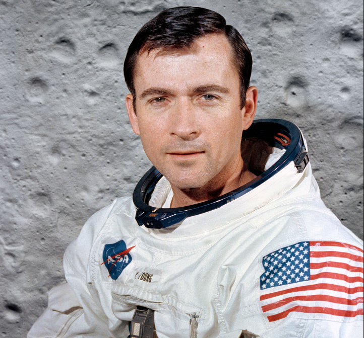 John Young in 1969