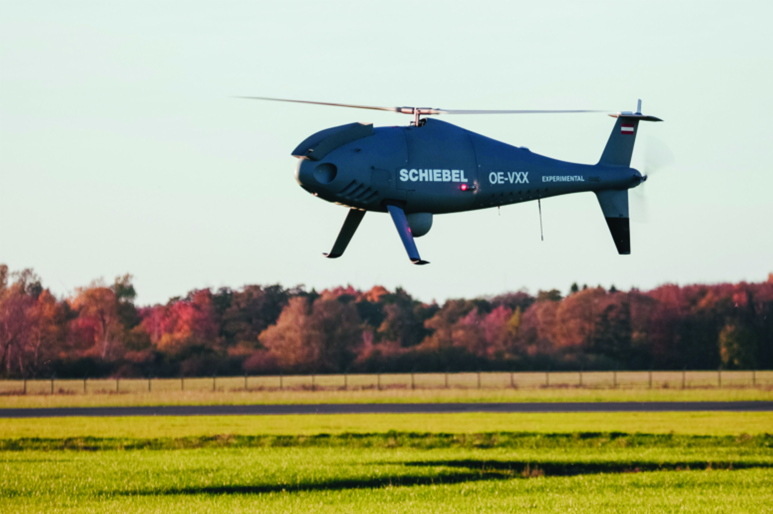 MDA has signed a contract with an unnamed international customer for the provision of turnkey, unmanned aircraft system surveillance services, which will include the use of a fleet of Schiebel CAMCOPTER S-100 rotary-wing unmanned aircraft. (PHOTO COURTESY OF SCHIEBEL)