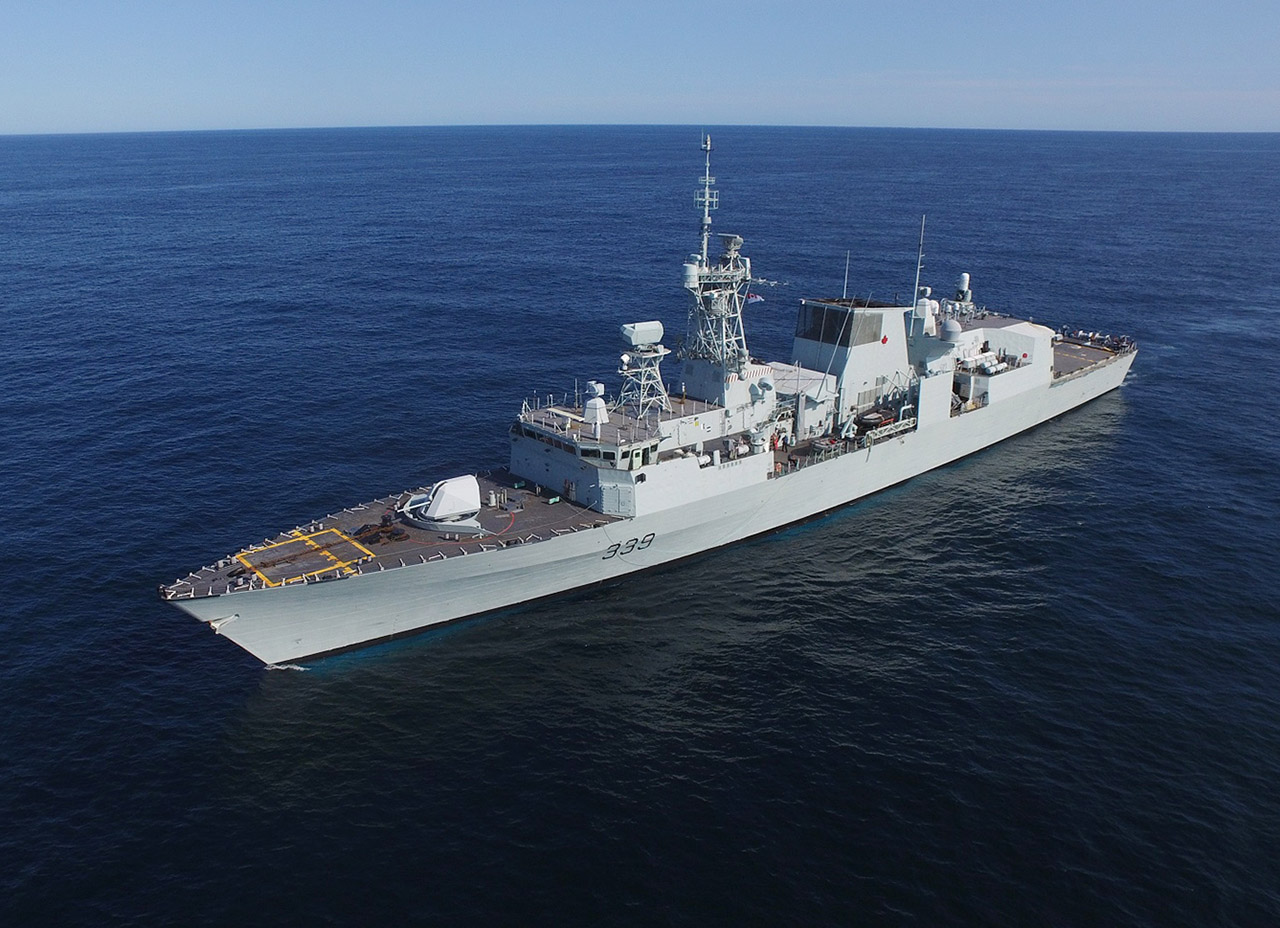 HMCS Charlottetown is participating in Operation NANOOK 2018.