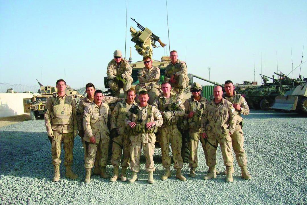 Kandahar 2008 Security Force Platoon, 3 PPCLI