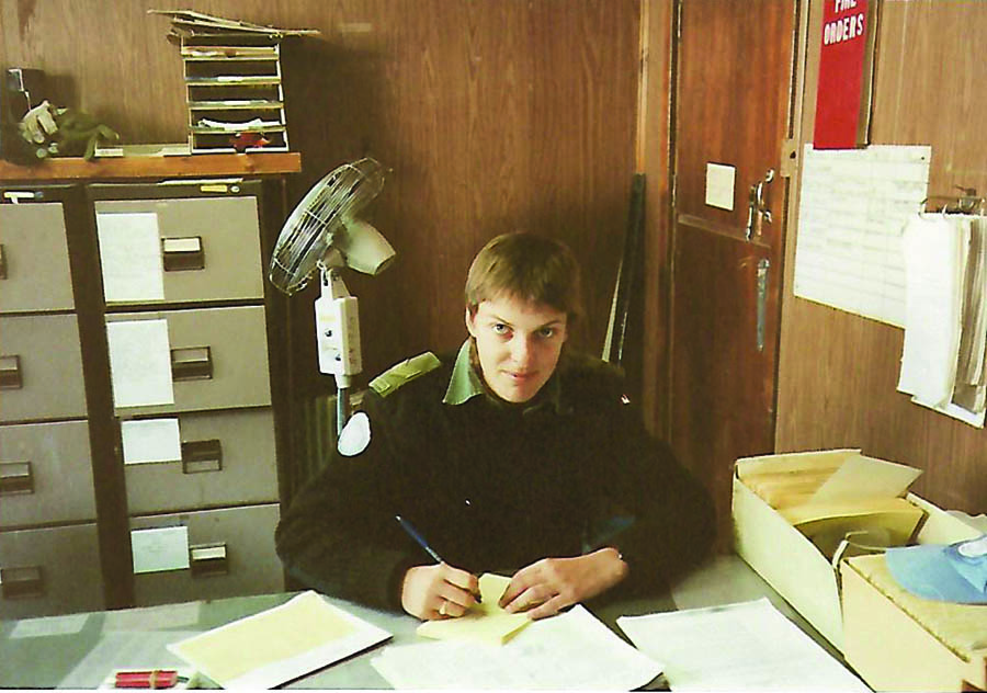 Rations Clerk For United Nations in Golan heights Israel, 1991