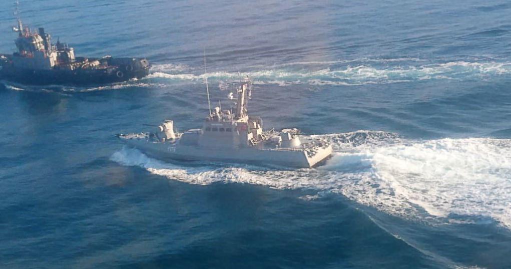 Photo from: https://www.rferl.org/a/ukraine-russian-ship-rams-navy-tugboat-off-crimea-azov/29619665.html