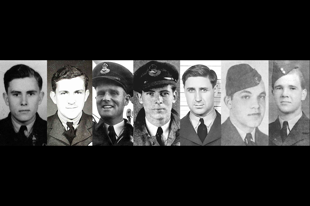 Twenty-three Canadians serving with the Royal Canadian Air Force and Royal Air Force died on operations on D-Day. This montage portrays seven of them. MONTAGE: RCAF