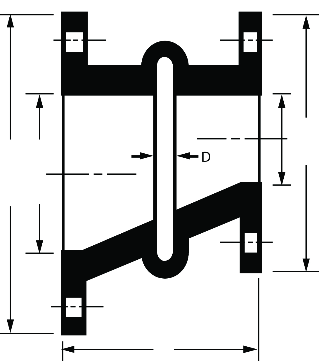 LaFavorite Industries Inc. : Eccentric Spool Type Expansion Joint