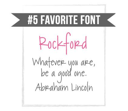 Rockford Handwriting Font