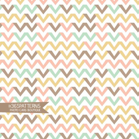 365 Patterns Chevron Ribbons