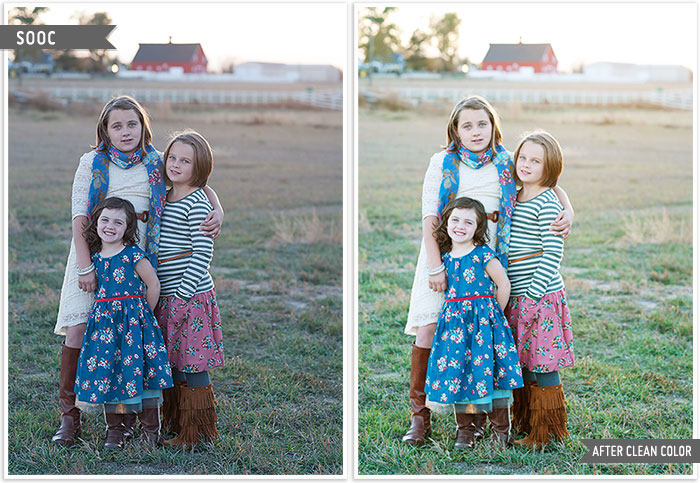 Clean color editing by Erin Cobb my before and after.