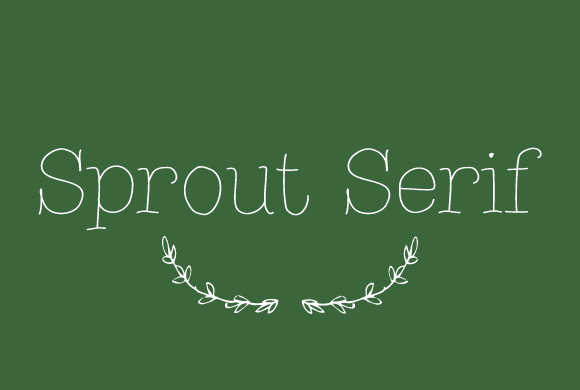 Sprout Serif Font