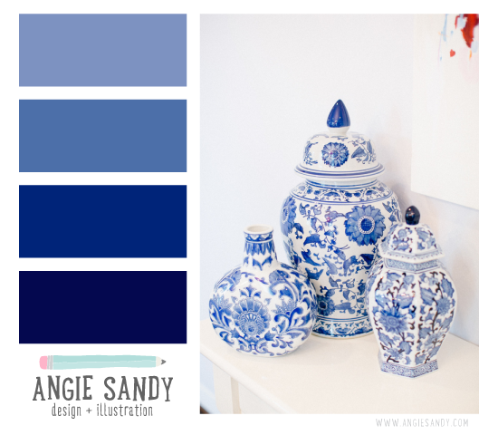 Color Crush 3.5.2014 - Angie Sandy #colorcrush #indigo