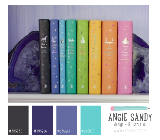 Charcoal, Purple and Teal Color Palette   Angie Sandy #colorcrush