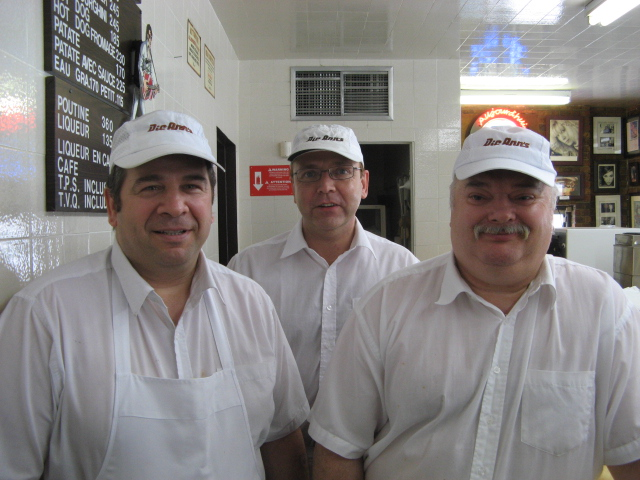 Daniel, Charles et Wally en 2008