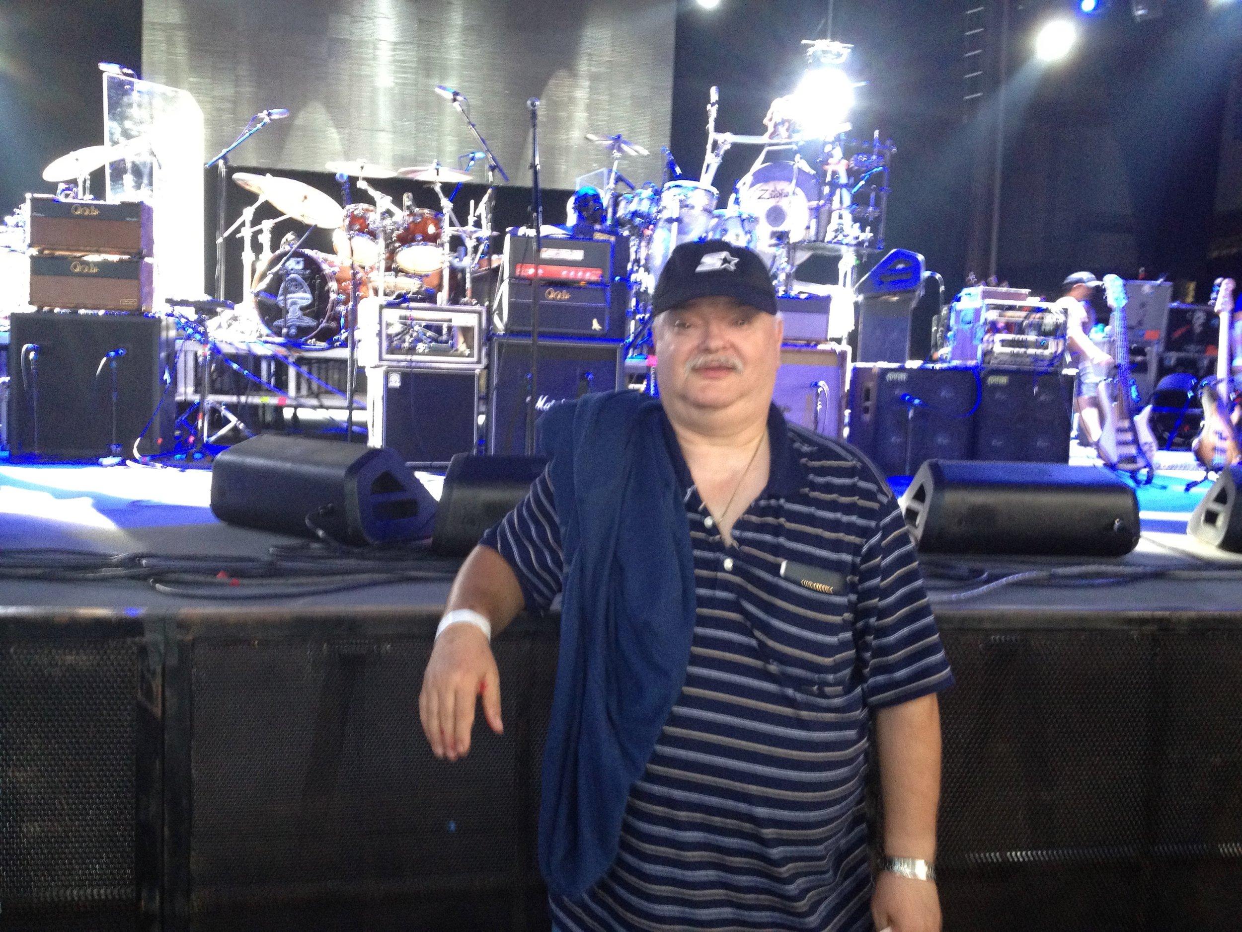 Santana en 2012