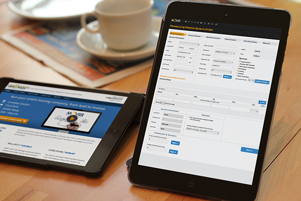 Control your business from your favorite tablet!