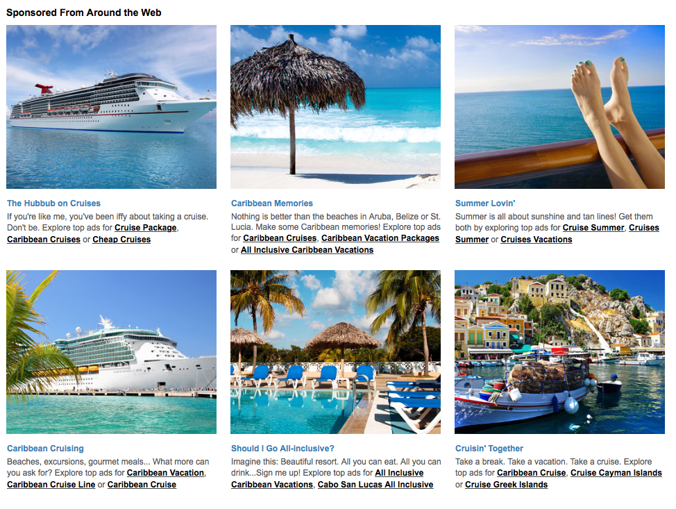 Article about Caribbean Cruises