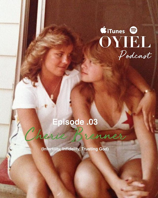 .03 Cherie Brenner – (Infertility, Infidelity, Trusting God)  Our next guest is former Miss Michigan and flight attendant of 30+ years, Cherie Brenner. Cherie happens to be my Aunt, but because of our strong free spirited bond and love for life, she's become a friend. In this revealing conversation, Cherie's bravery and vulnerability about being cheated on in her 25-year long marriage reveals wisdom that everyone can learn from. We also begin the podcast talking about my mother's struggle with infertility and how Cherie's prayers made a difference (obviously, cause well… I'm here). Her heart-aching yet redeeming story brings tears to the eyes but hope to the soul.  Available on iTunes, Spotify and all platforms where podcasts are available! Subscribe & share.
