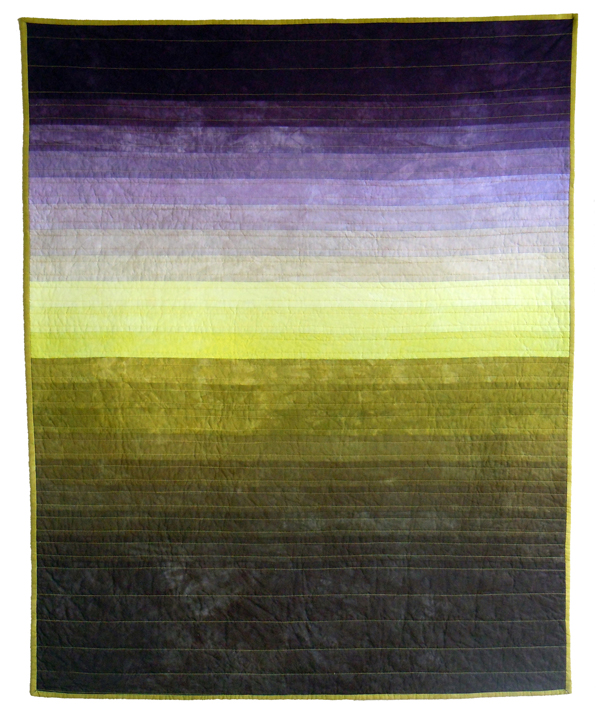 Skyscape in  Yellow and Purple