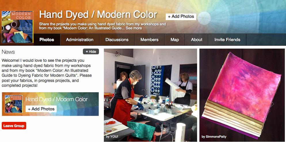 modern color flickr pool