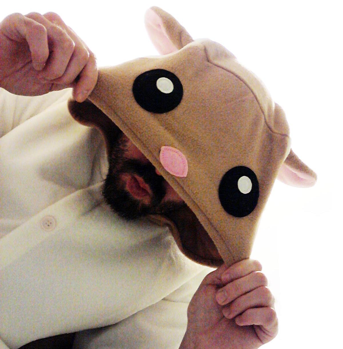 ...my flying squirrel costume for halloween 2013...