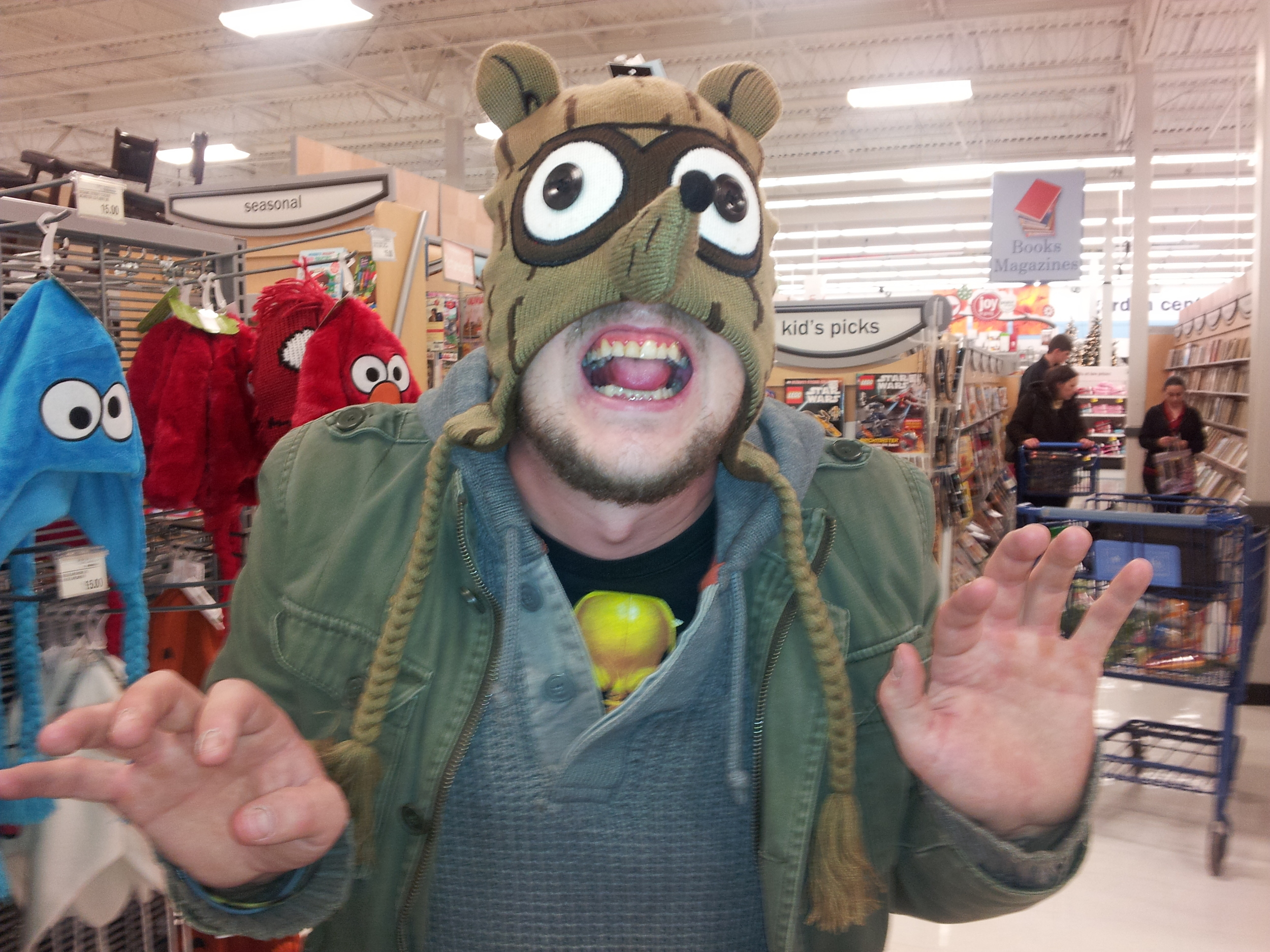 """...winner of 2012's """"kid's pick"""" award goes to my brother the weasel..."""